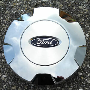 2009 2010 Ford Oem Factory F 150 Chrome Brushed Center Cap 9l34 1a096 Cb