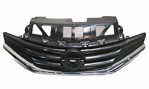 For 2014 2016 Nissan Versa Note Front Grille With Chrome Molding