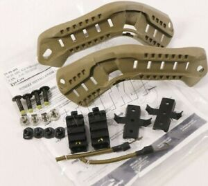 Ops Core ACH ARC Tan Accessory Rail Connector Kit w Bungees AUTHENTIC NOS $79.95