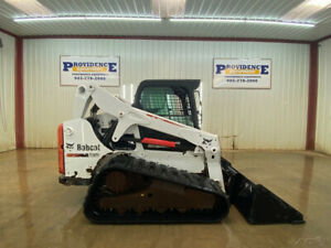2013 Bobcat T650 Cab Hst Skid Steer Loader With A c And Heat
