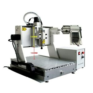 High Z axis 130mm Cnc Router 3040 Wood Aluminum Metal Engraving Milling Machine