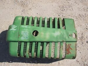 John Deere Mt Jd Tractor Original Front Nose Cone Grill For Over Radiator