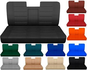 Car Seat Covers Fits Ford F150 Truck 87 91 Front Bench With Armrest Molded Hr