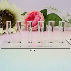 Acrylic Finger Ring Display Showcase For Shows Jewelry Storage Wedding Ring