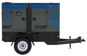 Winco Rp50 47 5kw Towable Mobile Diesel Generator Switchable Voltage 74hp Tier 4