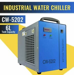 110v Industrial Water Chiller Cw 5202 For Cnc Laser Engraver Engraving Machines