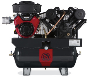 Chicago Pneumatic Rcp c1630g 16hp 2stage 35cfm Truck Mounted Air Compressor New