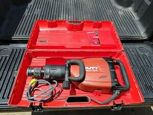 Hilti Te 1000 Avr Jack Hammer Concrete Breaker With Handle And Case