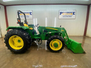 2008 John Deere 5303 Orops Tractor Loader With Front Auxiliary 4x4