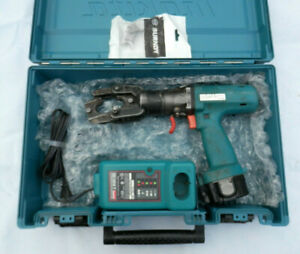 Burndy Bct500 Portable Hydraulic Crimper Set Battery Charger