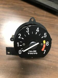 Rare Volvo Mini Tach Early 240 260 Gauge Cluster And 100 Series Tachometer