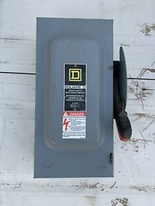 Square D H362 60a Safety Switch