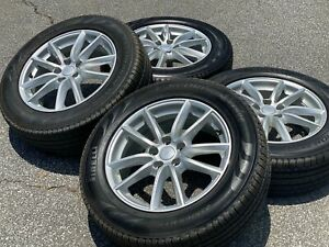 Set Of 4 Oem Factory Land Rover Range Rover 19 Takeoff Tires And Wheels 5x120