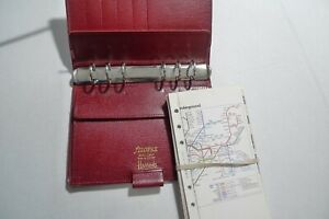 Filofax For Harrods Leather Planner Made In England Vintage