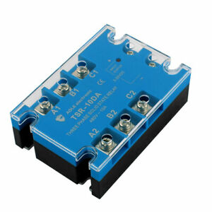 Ash 3 Da4810 3 32vdc To 480vac 10a Three Phase Solid State Relay Dc To Ac