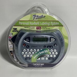 Brother P touch Personal Handheld Labeling Label Maker Model Pt 70bm New Sealed