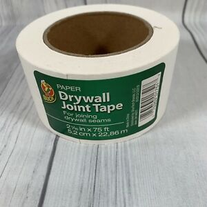 Duck Brand Paper Drywall Joint Tape 2 06 Inches X 75 Feet 1 Roll 282937