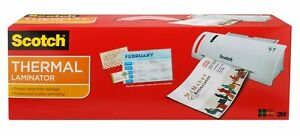 Scotch Thermal Laminator Combo Pack Includes 20 Letter size Laminating Pouch