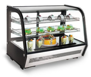 Omcan 27157 Rs cn 0160 Commercial Countertop Refrigerated Display Case 44630