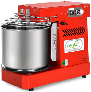 Italian Famag Im 8s Spiral Dough Mixer For Home Or Commercial 12 Quart Bright