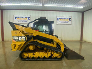 2014 Cat 299d Hxp Cab Skid Steer Track Loader With Ac heat