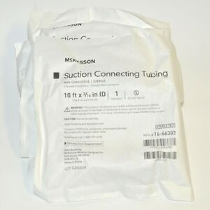 Mckesson Infiltration Tubing Suction Connecting Tube 3 16 X 10 Id 16 66302 X3