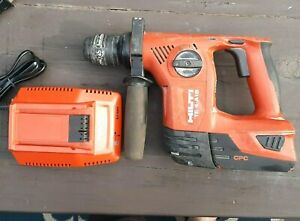 Hilti Cordless Te4 a18 Rotary Hammer Drill 18 3 3 Battery C4 36 90 Charger