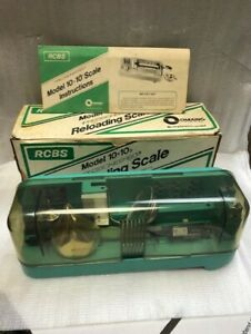 RCBS 10 10 Reloading Scale. Fantastic Condition holds Less Than 1 Tenth Grain. $165.00