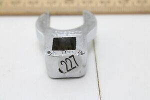 Snap On 5 8 Usa 3 8 Drive Crowfoot Wrench Excellent Condition