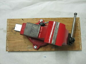 Wilton 111106 4 Red Machinist Swivel Bench Vise Made Usa