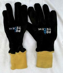 Protech 8 Wk Leather Wildland Fire Fighting Turnout Gloves Pt 8 New no Tag