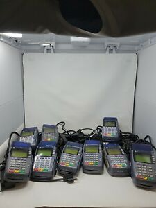 Verifone Omni 3750 Card Reader Lot 9 Total All With Power Cables