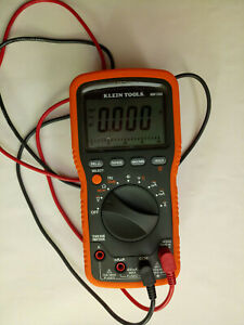 Klein Tools Mm1000 Auto Range Electrician hvac Digital Multimeter With Leads