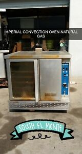 Imperial Icv 1 Gas Single Full Size Convection Oven