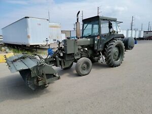 1994 Ford 6610 2wd Tractor Sweeper Only 120 Hours Government Owned New Holland