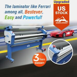 Qomolangma 63in Full auto Wide Format Cold Laminator With Heat Assisted