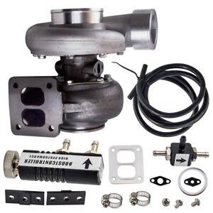 Brand New Gt45 Turbocharger T4 V Band 1 05 A R 78trim 600 Hp Boost Controller