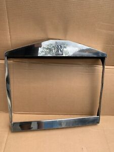 1967 68 69 70 71 Rolls Royce Silver Shadow Grill Shell Only Chrome