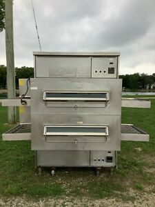 Pizza Oven Conveyor Middleby Marshall Ps360 Double Stack Nat Gas Tested