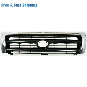 New To1200213 Front Grille Chrome Shell Fits Toyota Tacoma 1998 2000 5310004100