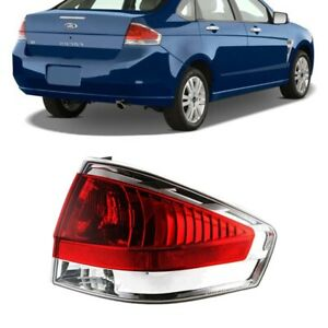 For 2008 Ford Focus S Se Ses Tail Light Tail Lamp Assembly With Bulb Passenger
