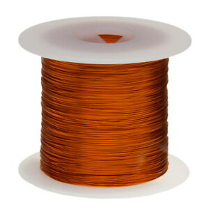 20 Awg Gauge Enameled Copper Magnet Wire 1 0 Lbs 315 Length 0 0351 240c Nat