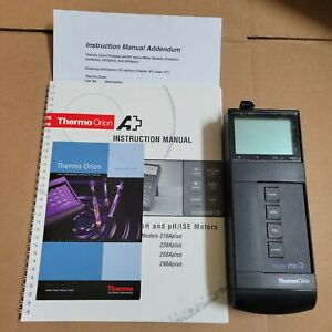 Thermo Orion Model 210a Plusmeter Portable Ph And Ph ise Meter