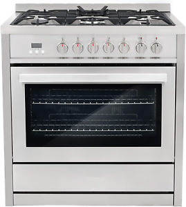 Cosmo Cos f965nf 36 In Dual Fuel Range With 5 Gas Burners Electric Convection