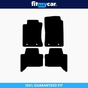 To Fit Toyota Tacoma Access Cab Pickup Truck 2012 2015 Black Carpet Floor Mats