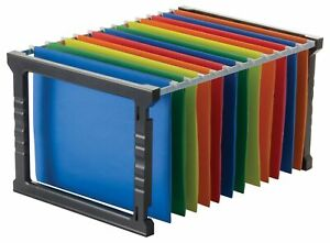 Officemate Plastic Hanging File Folder Frame 18 Inch Letter And Legal Size