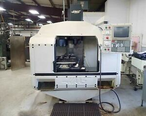 Haas Vf 1 Vmc 1990 4th Axis Ready 16 Atc Low Hours