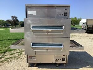 Middleby Marshall Ps360wb Pizza Oven Conveyor Nat Gas 208 240 V 1phase Tested