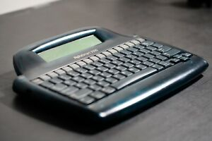 Alphasmart 3000 Tested With Usb Cable New Backup Battery International Ship