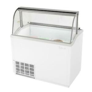Turbo Air Tidc 47w n 47 In White Ice Cream Dipping Cabinet